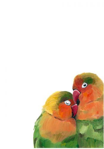 HGriffinARt Lovebirds High Res