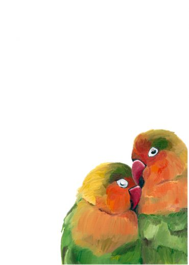 HGriffinARt Lovebirds High Res